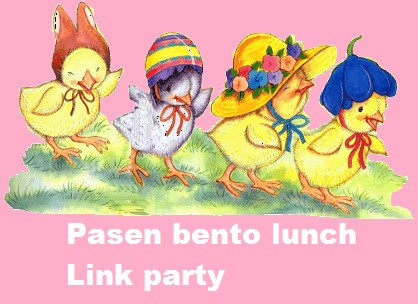 Pasen bento lunch link party