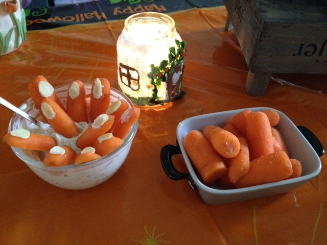 halloween snacks lunch