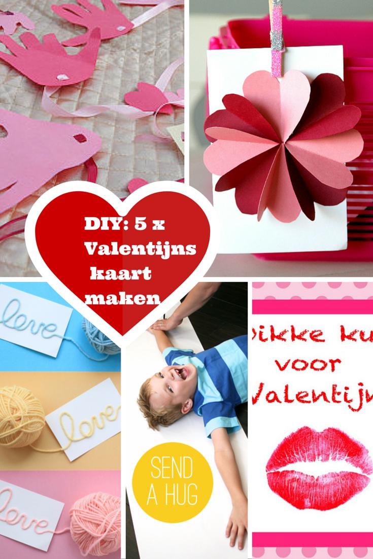 Valentijnskaarten maken