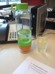 Water drinken saai op je werk bij de leukste lunch