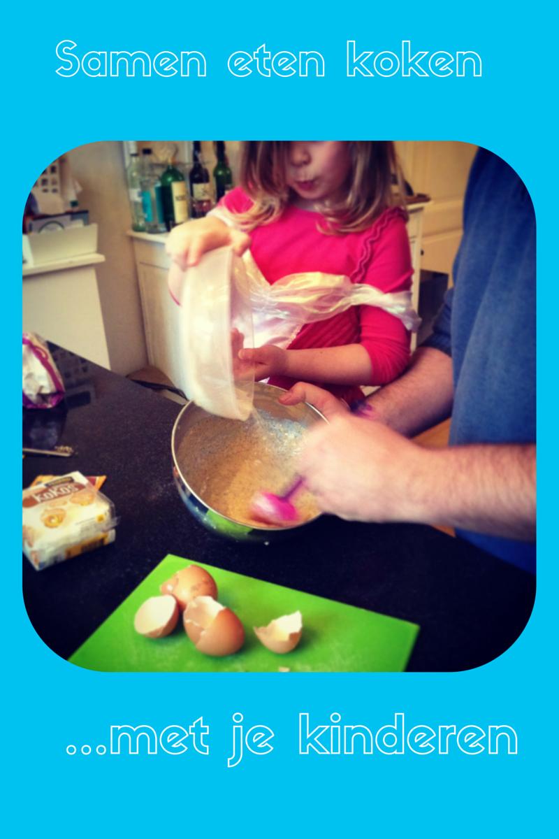 samen koken met je kinderen
