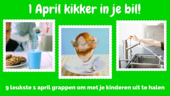 april grappen voor kinderen