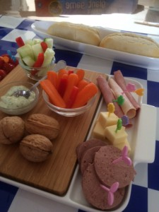 walnoten in de lunchtrommel