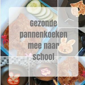 Gezonde pannenkoeken naar school