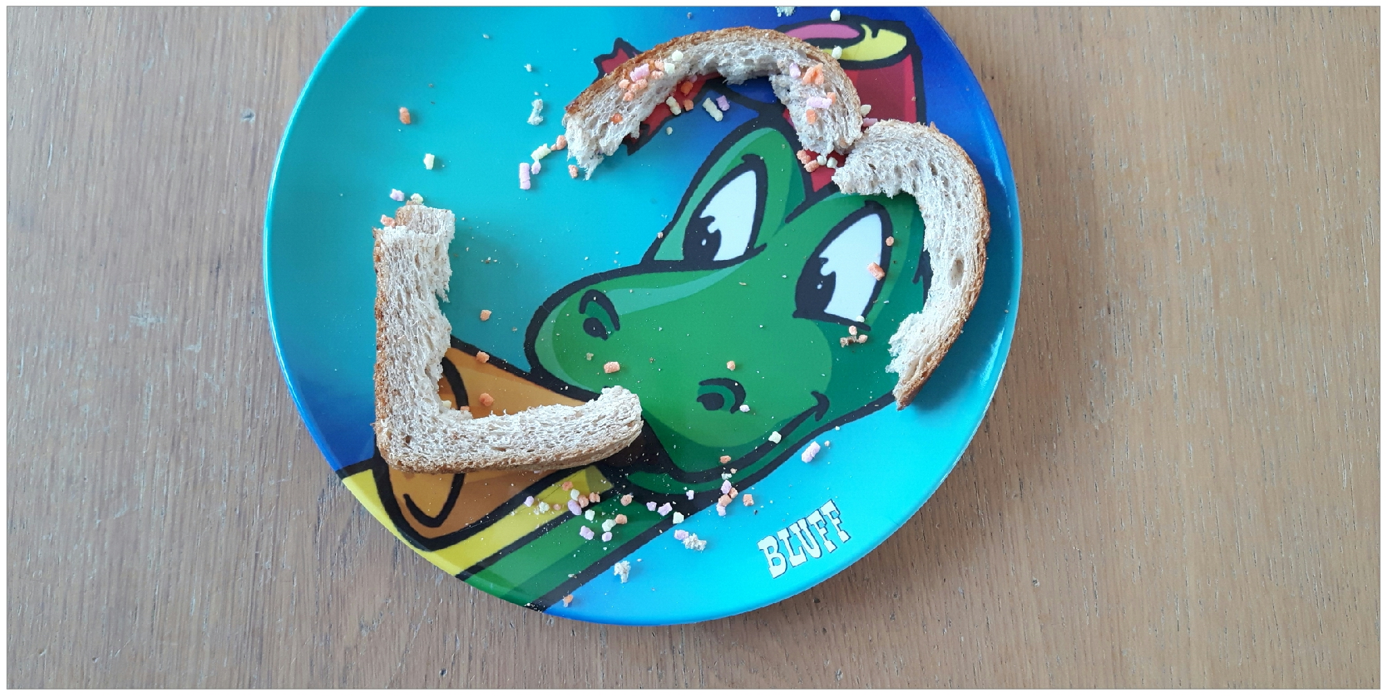 broodkorstjes opeten