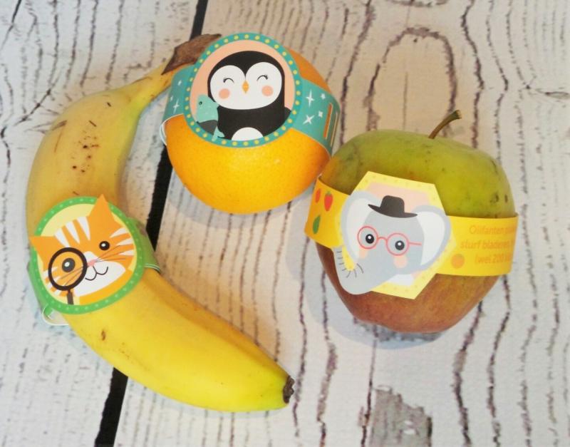 fruitbandje traktatie fruit