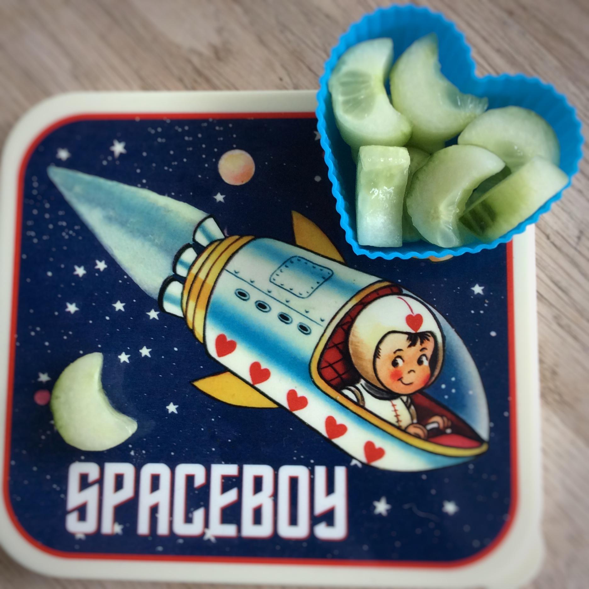 ruimteraket spaceboy broodtrommel
