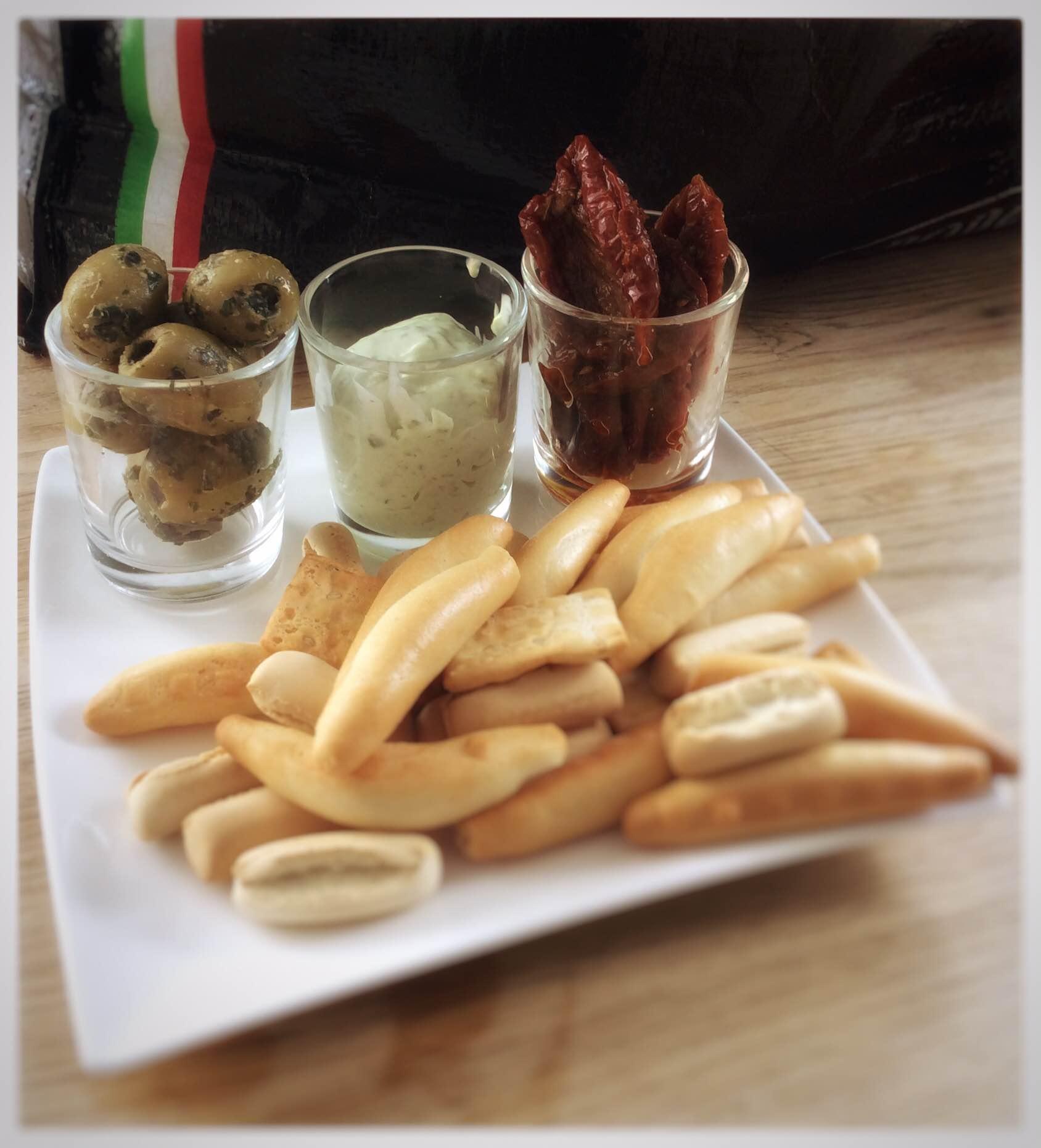 italiaanse snacks