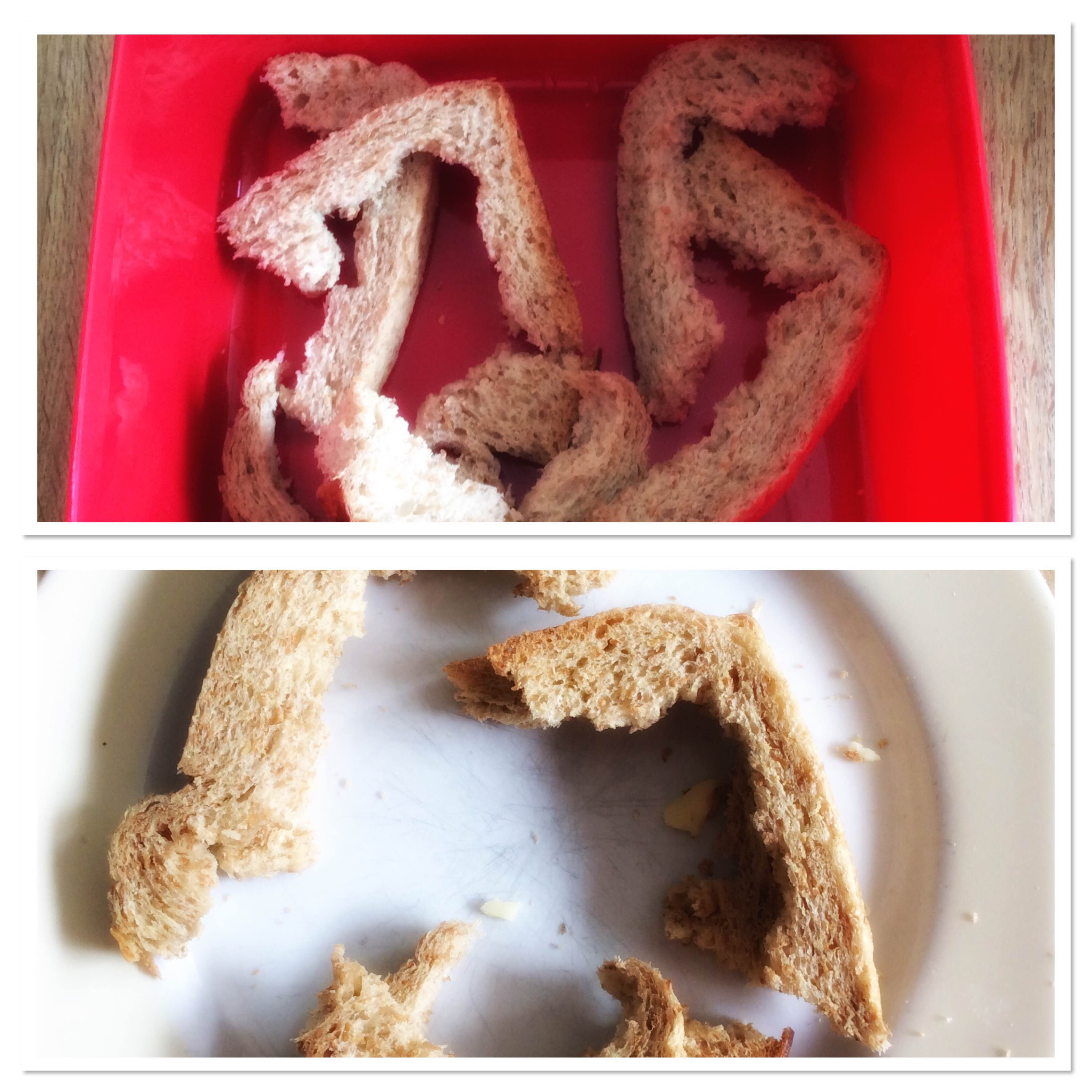 tip voor broodkorstjes