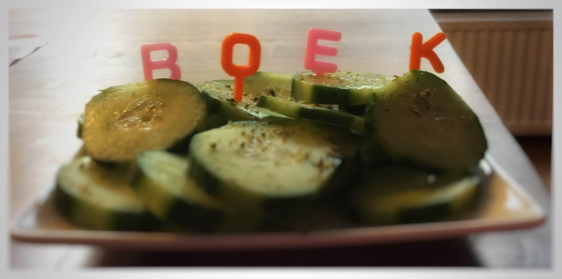 Alfabet lunchprikkers
