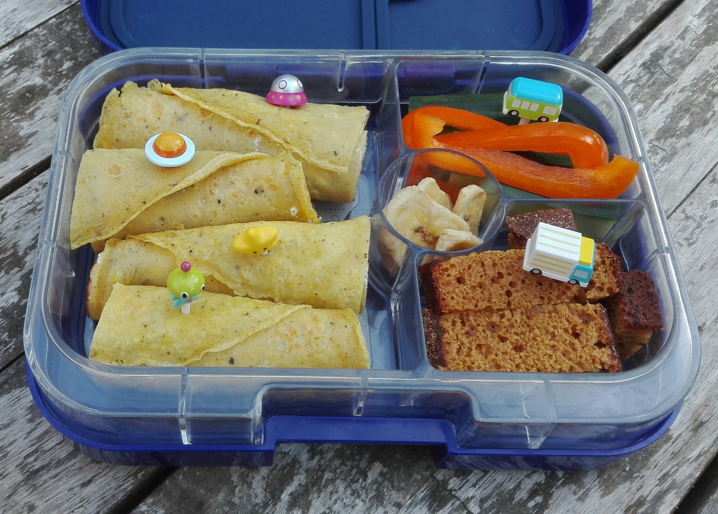 Wraps in de Yumbox