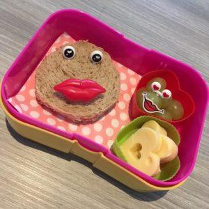 Leuke lunchtrommel thema liefde bento lunch gezond