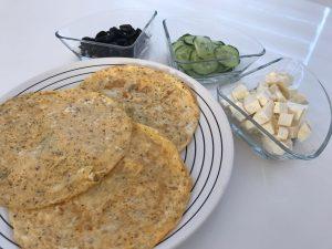 Gezonde tussendoortjes suikervrij op school omeletrolletjes