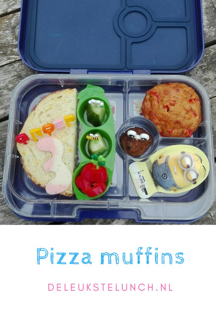 pizza muffins biologisch speltmeel