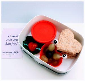 Dag van de Leraar lunch voor leerkrachten juf meester school bentobox kinderen