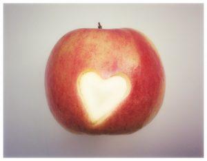 Dag van de Leraar lunch voor leerkrachten juf meester school bentobox kinderen appel hartje