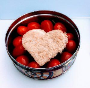 Dag van de Leraar lunch voor leerkrachten juf meester school bentobox kinderen lunchtrommel hartje liefde