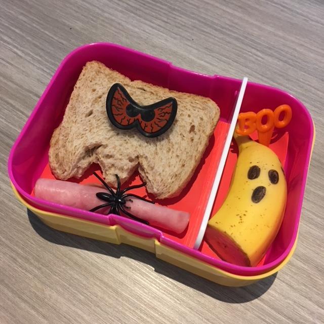 halloween bento lunchtrommel