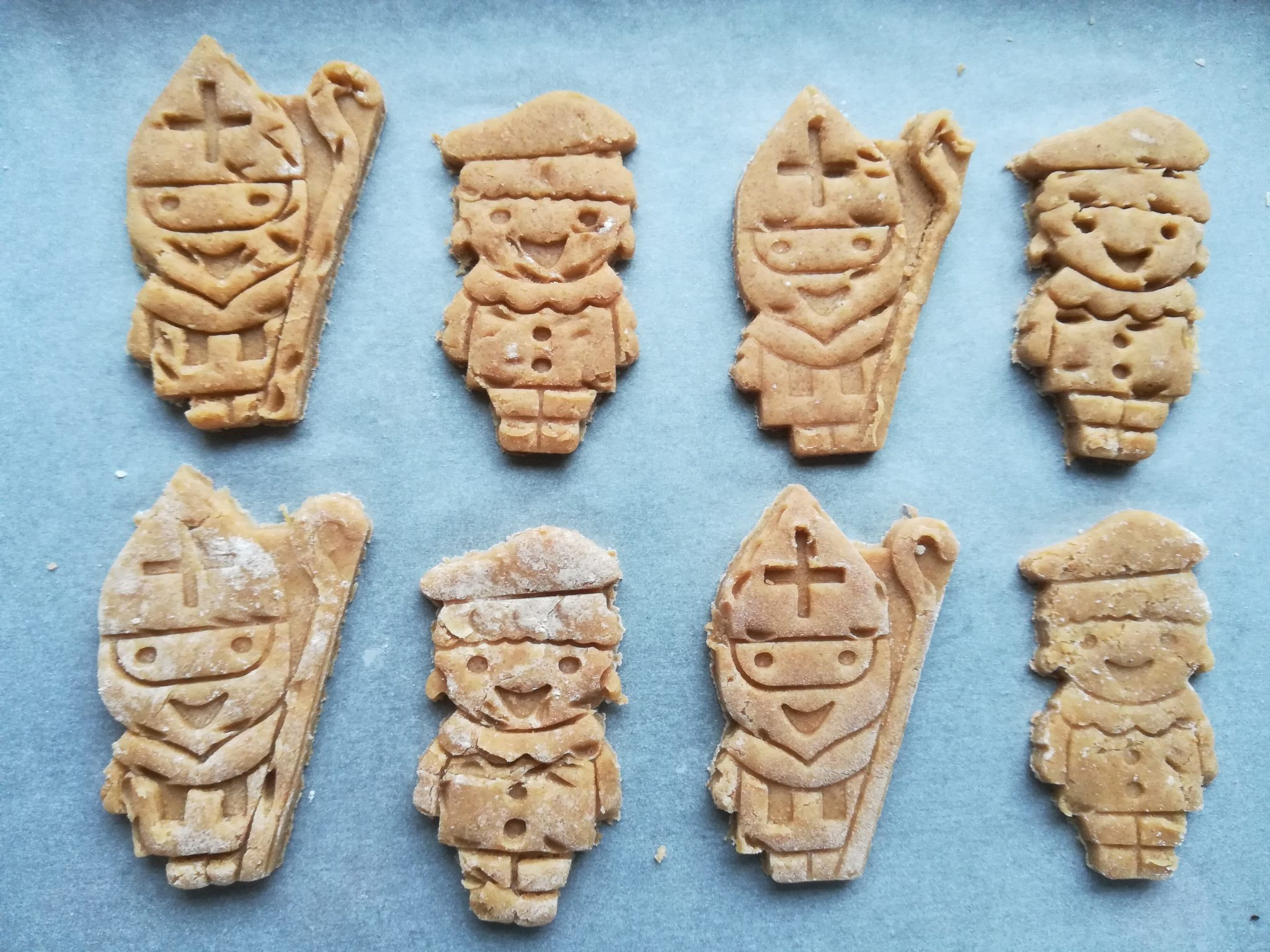 Sinterklaas koekjes maken