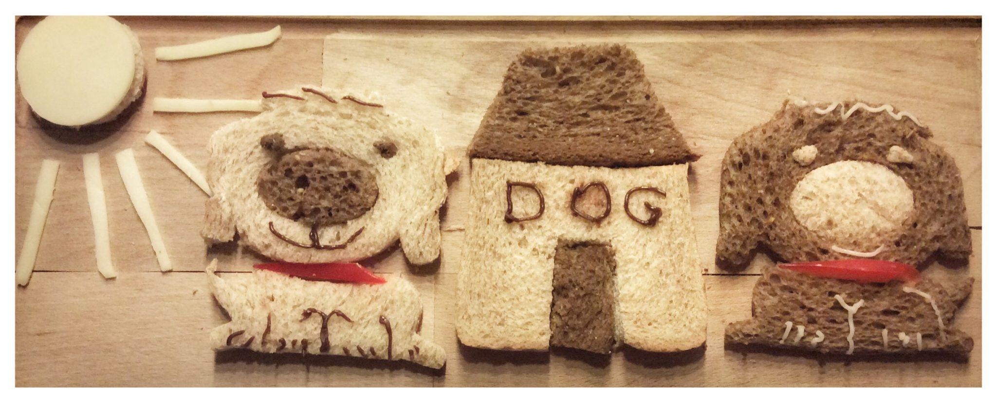 honden lunch inspiratie