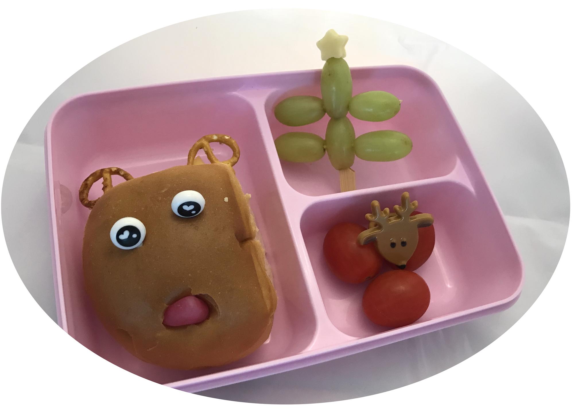kerst bento lunchtrommel