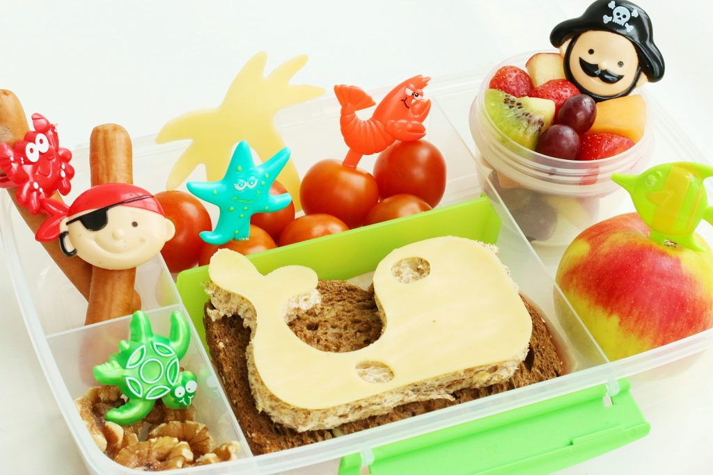 piraten lunchpakket bento